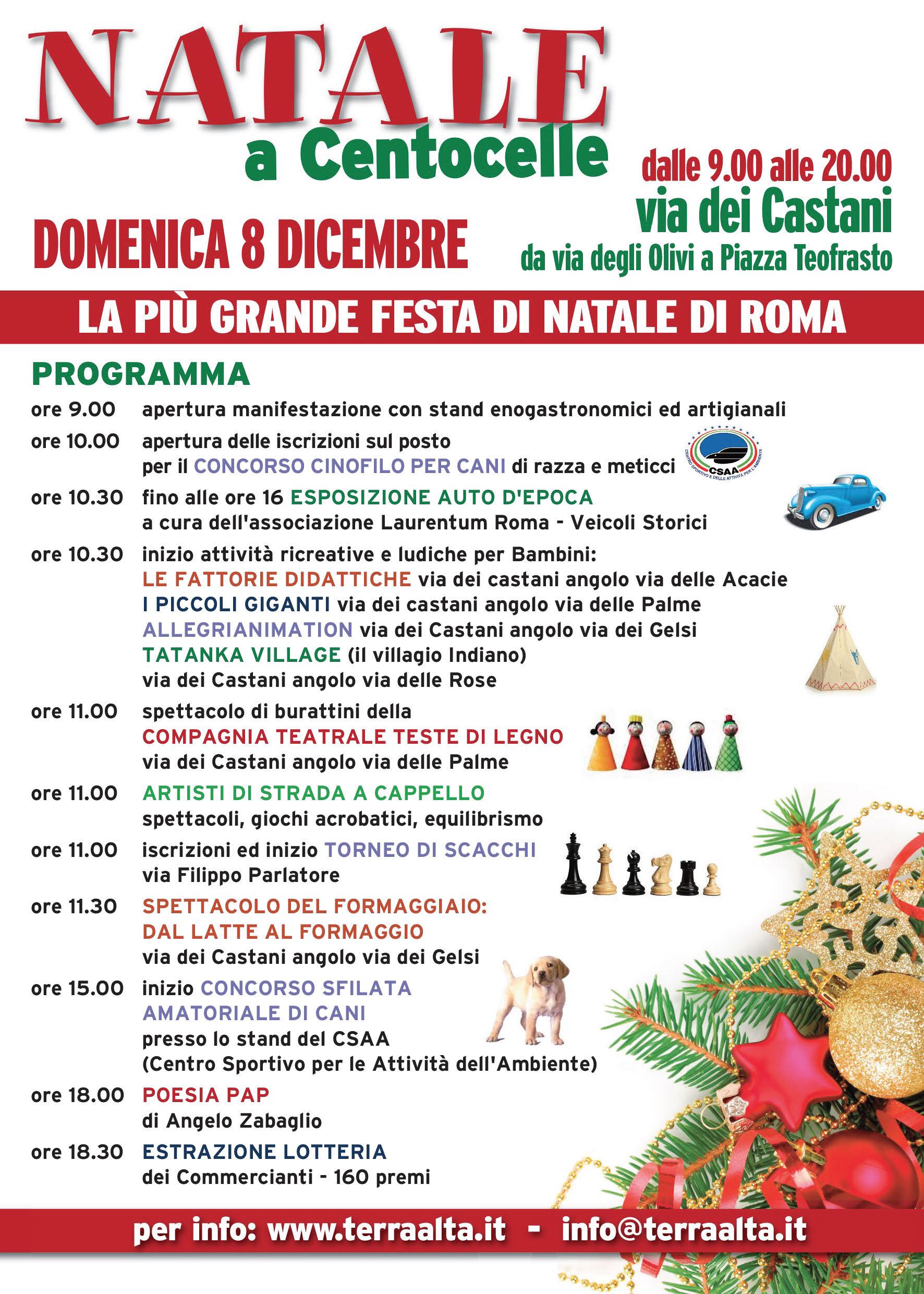 Mercatini Di Natale 2013 A Roma Mercatino Di Natale 2013