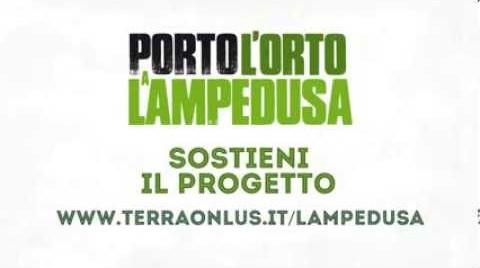 Porta l' orto a Lampedusa. Una bella giornata che continua…